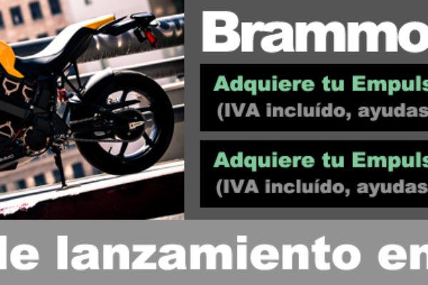 Descuentos de hasta 5692€ en la compra de una Brammo Empulse
