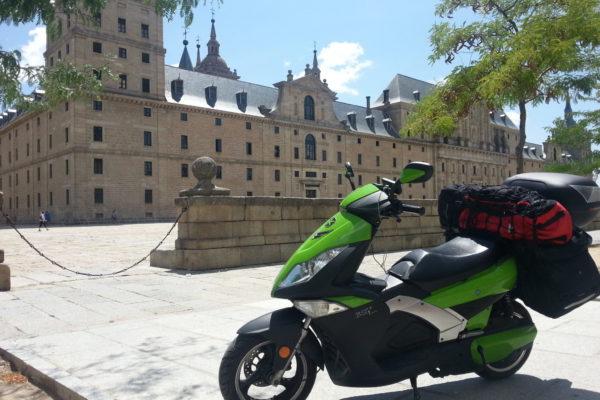 De Cataluña a Asturias, pasando por Madrid, en scooter eléctrico