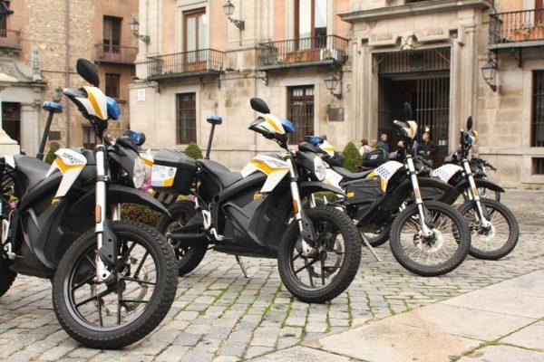 La Policía Municipal de Madrid incorpora 10 Zero Motorcycles