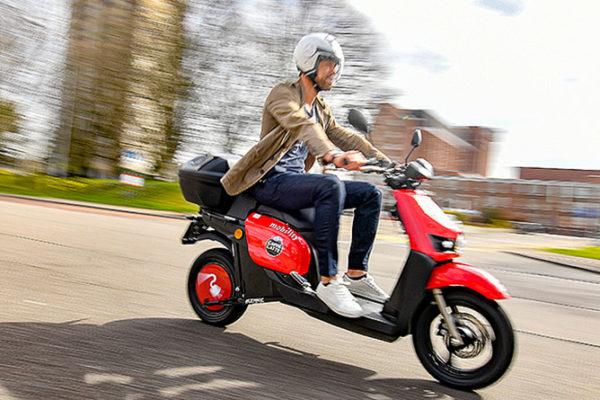 El motosharing anima las matriculaciones de abril