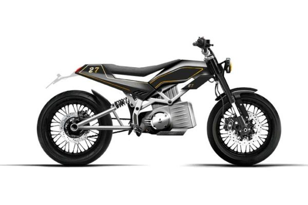 Gloria, la primera moto eléctrica de Jambon-Beurre Motorcycle