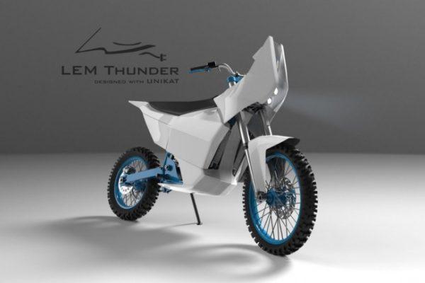 LEM Thunder, directa al Dakar