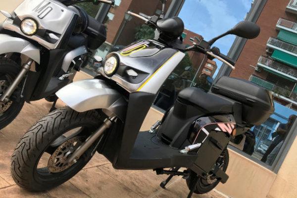 Molo, el primer servicio por suscriptores de motos eléctricas en Valencia