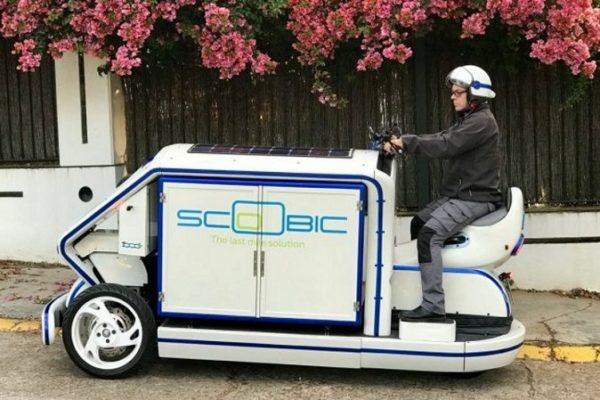 Scoobic, el reparto urbano más sostenible