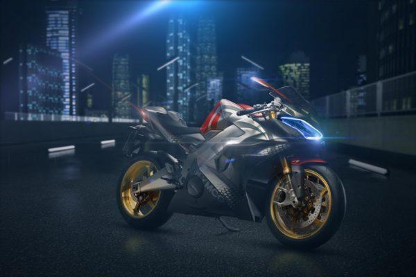KYMCO presenta en Milán SuperNEX, la primera moto superdeportiva eléctrica