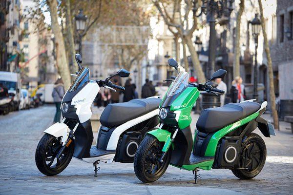 Las matriculaciones de motos eléctricas siguen creciendo