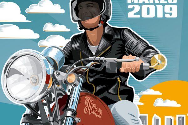 Cartel MotoMadrid 2019