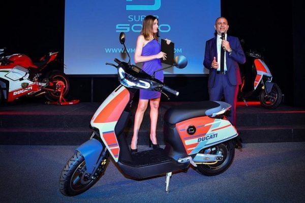 SuperSoco CUx, la primera moto eléctrica de Ducati