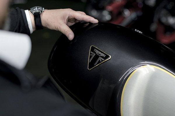 Triumph ya trabaja en una moto eléctrica