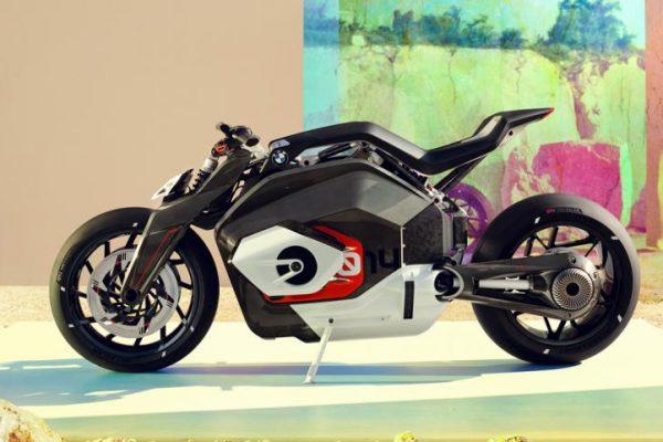 BMW Motorrad Vision DC Roadster: una moto eléctrica en mayúsculas