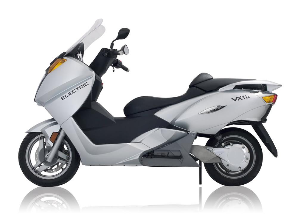 Probar una moto eléctrica