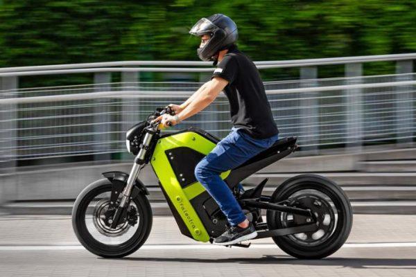 Falectra, la moto eléctrica creada con impresión 3D