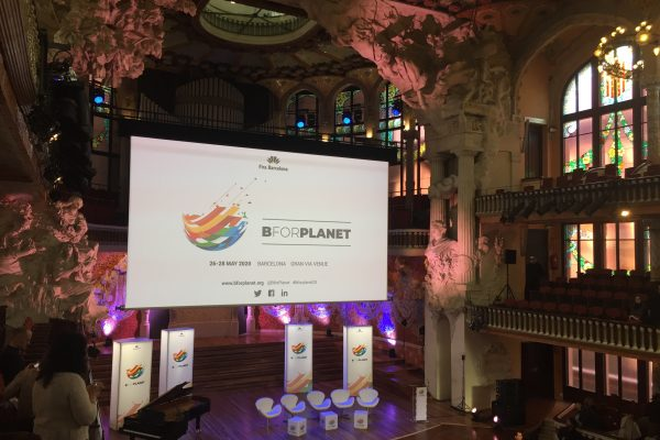 Presentación de BforPlanet en el Palau de la Música