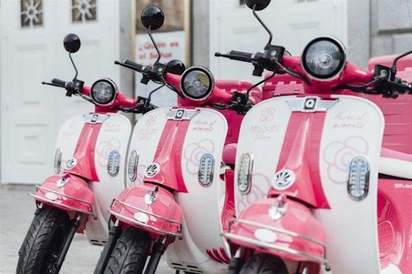 Miss Sushi servirá su sushi a domicilio con motos eléctricas Quazzar