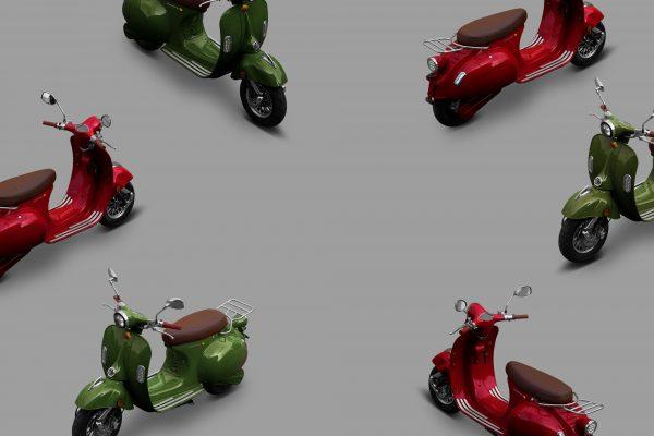 Velca Motor se presenta con dos scooters eléctricos: Bora y Tramontana