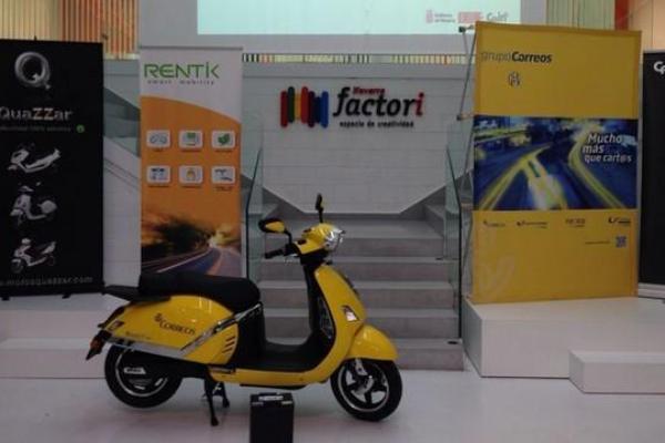 El Proyecto Rentik impulsará el uso de motos eléctricas en Correos