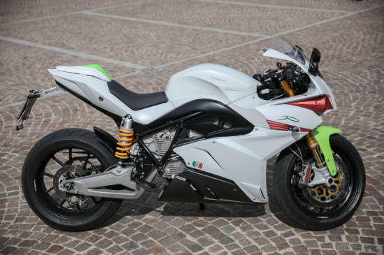 Energica Ego electric motorcycle