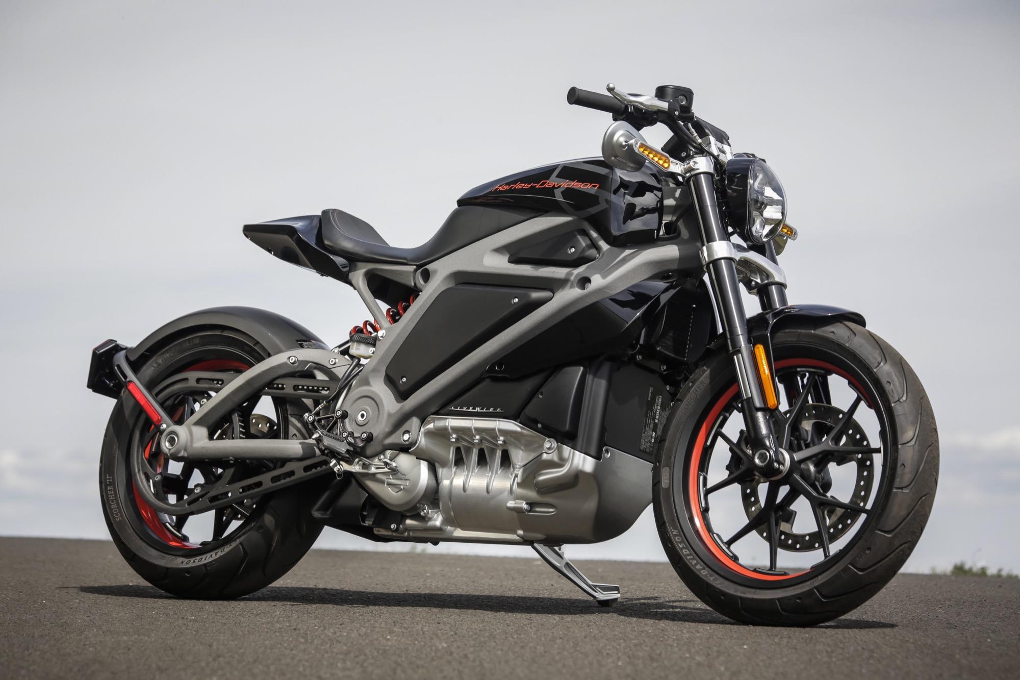 Probamos La Impresionante Harley Davidson Livewire