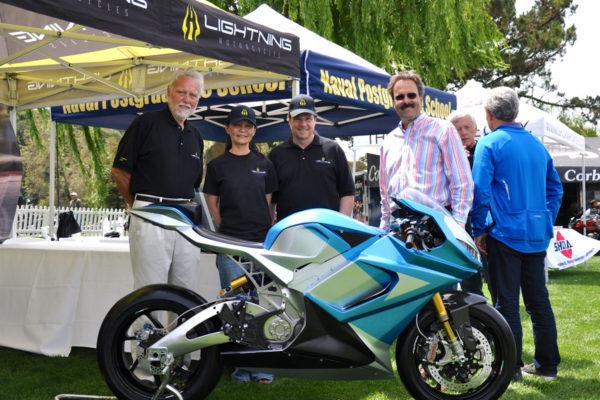 Lightning LS-218 E, la moto eléctrica más rápida del mundo llevada a producción