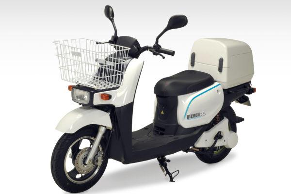 Terra Motors presenta el Bizmo II, un ciclomotor eléctrico de reparto con 150 km de autonomía