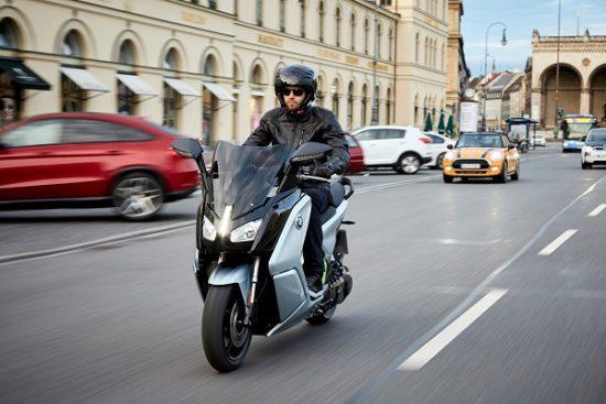 BMW presenta una versión de su C Evolution con 160 km de autonomía