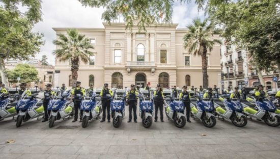 La Guardia Urbana de Barcelona recibe 30 unidades de la BMW C Evolution