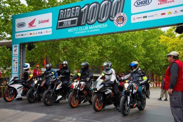 A la Rider 1000 en moto eléctrica