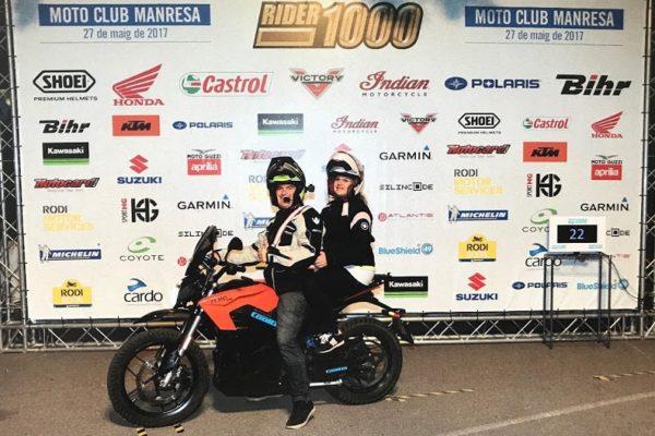 Superada la Rider1000 en moto eléctrica