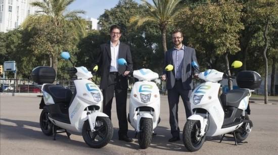 ECONOMIA Cooltra  sistema de motos electriques de lloguer a Barcelona